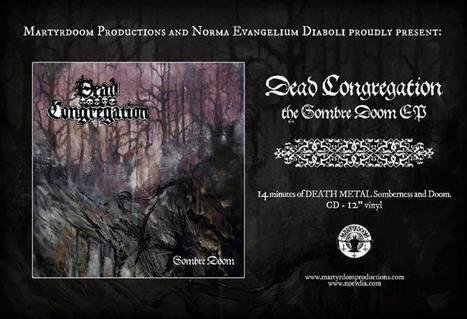 DEAD CONGREGATION est de retour avec le streaming de son nouvel EP | Underground Art | Scoop.it