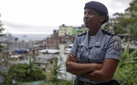 Meet Major Pricilla: the woman pacifying Rio's favelas ahead of the World Cup - Telegraph.co.uk   Global Drug War   Scoop.it