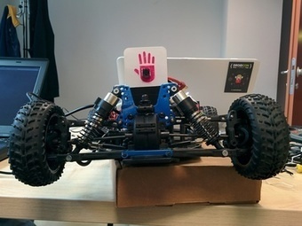 DroniXcar - RC car powered by UDOO and Android | Open Source Hardware News | Scoop.it