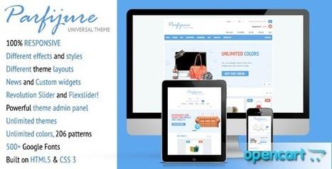 Parfijure – Premium Responsive OpenCart theme! (Shopping) Download | eCommerce Templates Download | Scoop.it