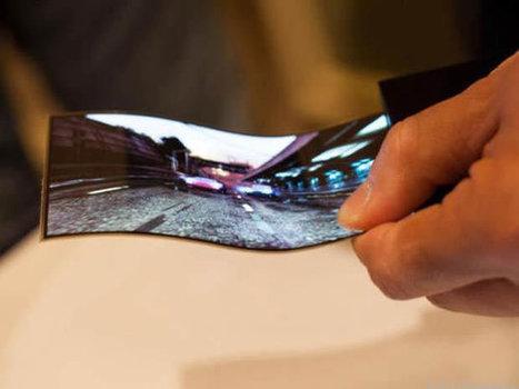 Le marché des écrans OLED flexibles va exploser en 2014 | My Interest | Scoop.it