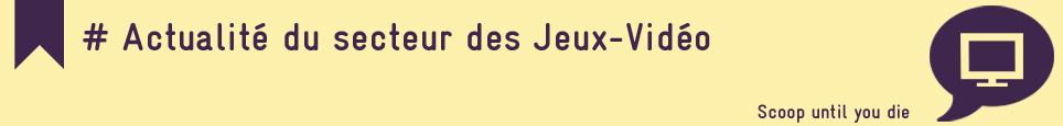 SECTEUR DES JEUX-VIDEO