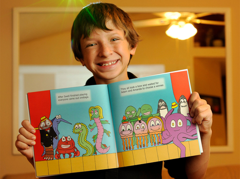 Middleburg resident a children's book illustrator -- at 13 | Co-Creation Community | Scoop.it