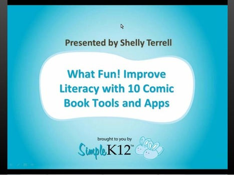Webinar: What Fun! Improve Literacy with 10 Comic Book Tools and Apps | Social studies | Scoop.it