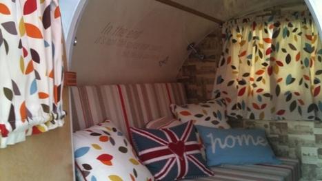 About Ade's caravan | Feature articles - ITV Food | Teardrop trailer building | Scoop.it