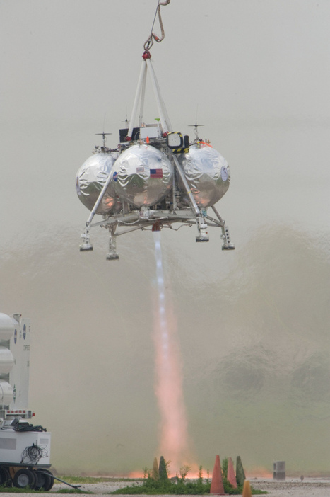 Wanted: Private Robot Moon Lander Ideas for NASA | Robots and Robotics | Scoop.it