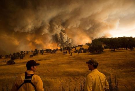 California wildfires - The Boston Globe | Best of Photojournalism | Scoop.it