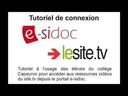 Tutoriel e-sidoc #4 | Apprivoisons Esidoc | Scoop.it
