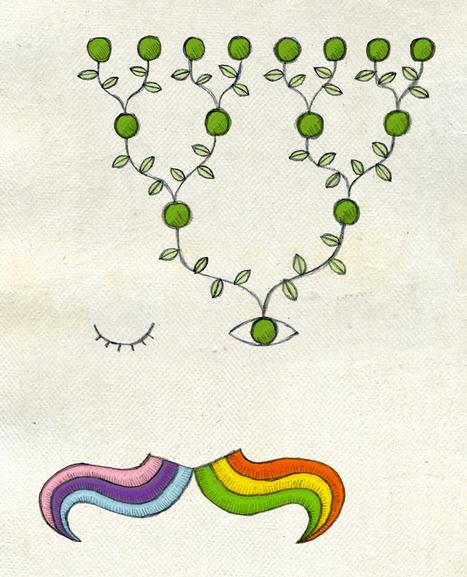 Mendel lee su famoso artículo sobre la hibridación de los guisantes / Ilustraciones / Multimedia / SINC | Educacion, ecologia y TIC | Scoop.it