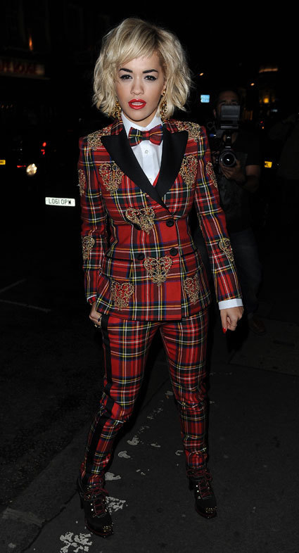 Rita Ora's tartan suit at the Rimmel 180th anniversary party - love or loathe? - Sexy Balla | News Daily About Sexy Balla | Scoop.it