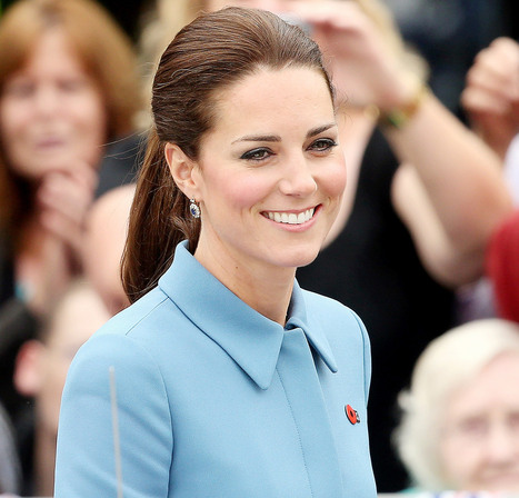 Kate Middleton Wears a Ponytail in New Zealand: See the Picture! | Makeup | Scoop.it
