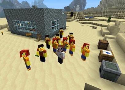 Niños, guarden los libros, hoy damos clase en el mundo de Minecraft   tecnología industrial   Scoop.it
