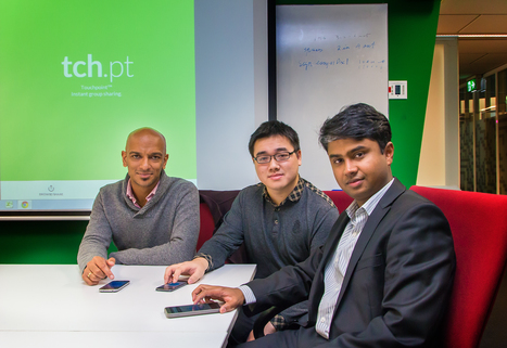 New app Touchpoint from RMIT student and Pongolabs simplifies info sharing to the touch of your finger - and no downloads! | RMIT Computer Science & IT - tech news and ICT updates | Scoop.it