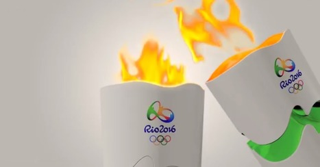Designing The Iconic Flame - A Visual History Of The Olympic Torch | Design in Education | Scoop.it