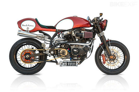 Buell X1 Lightning by Deus | Cafe Racers | Scoop.it