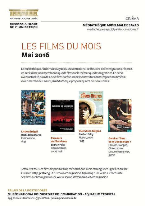 La sélection du Mois de mai 2016 - Médiathèque Abdelmalek Sayad | Cinéma et immigration - Musée de l'histoire de l'immigration | Scoop.it