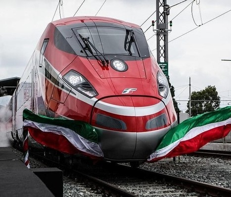 Bombardier unveils Frecciarossa 1000 high-speed train in Italy - Railway Technology | Actualité ferroviaire internationale - International railway news | Scoop.it