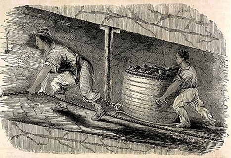 BBC - Primary History - Victorian Britain - Children in coal mines | Victorians | Scoop.it