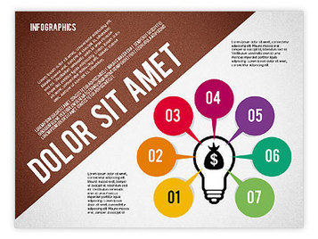 Presentation Template with Infographics | PowerPoint Diagrams, Charts, and Shapes | Scoop.it