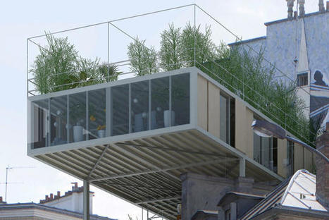 These Apartments Are Designed To Sit On Rooftops | Real Estate Plus+ Daily News | Scoop.it