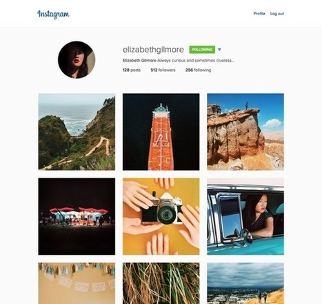 Instagram Redesigned for Web Users- Has Cleaner Layout & Bigger Photos | Current Online Marketing Trends | Scoop.it