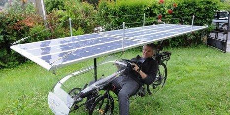 Pau : il s'apprête à parcourir 7500 km avec un vélo solaire | Transports Alternatifs et Éco-Mobilité | Scoop.it