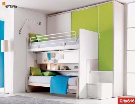 All in One Doimo: soppalco scorrevole di ultima generazione | Arredamento per bambini e camerette | Scoop.it