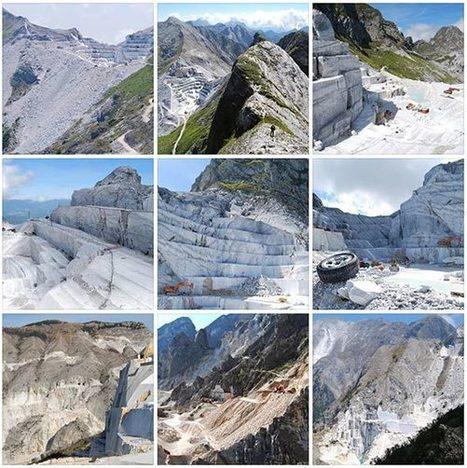 Alpi Apuane: l'impatto devastante delle cave su paesaggio e ambiente | Craft design | Scoop.it