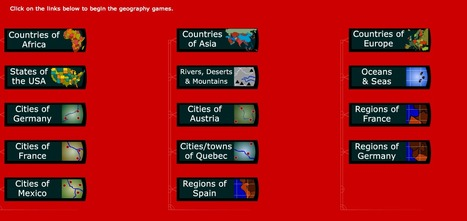Geography games | English resources for Primary and Secondary | Scoop.it