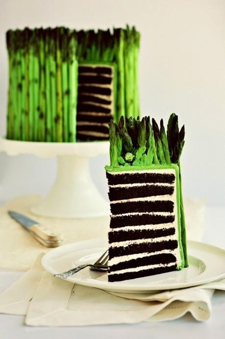 How to Make a Fondant Asparagus #Cake {a Tutorial} | Classwork Portfolio | Scoop.it