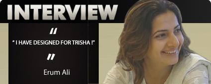 Erum Ali - Tamil Cinema Costume Designer Interview - Erum Ali | Costume Designer | Abbas - Behindwoods.com | EA Bridal Design | Scoop.it
