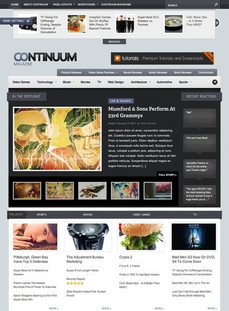 30 Outstanding WordPress Magazine Themes from 2012 | Blogging Tips | Public Relations & Social Media Insight | Scoop.it