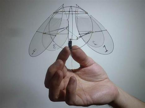 Flying Jellyfish-Like Machine Conceptualizes How Tiny Future Surveillance ... - International Business Times | Robotics | Scoop.it