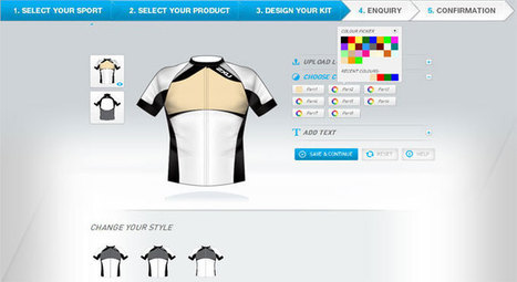 Custom sportswear design software for providing some different experience for your end-users | Online product design tool | Scoop.it