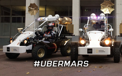 #UberMARS, le premier véhicule martien arrive dans Paris | Marketing et Promotions | Scoop.it