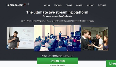 Camcada > The streaming platform for business events, conferences and education. | Duct Tape Media | Scoop.it
