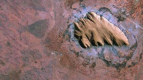 Uluru rocks from space - Herald Sun | Australian Tourism Export Council | Scoop.it