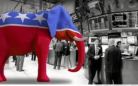 Dow and S&P 500 hit record levels after GOP win - Nov. 5, 2014 | marketing | Scoop.it