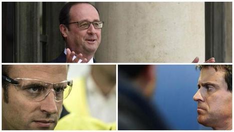 Hollande, Valls, Macron : un triangle infernal à la tête de l'Etat ? | Pierre-André Fontaine | Scoop.it