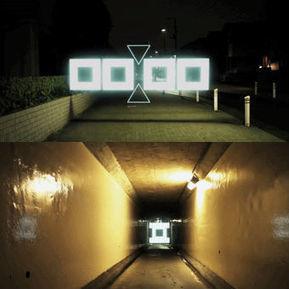 Tao Tajima's Geometric Light-Scape Animation Project: Night Stroll | Tech Nontech Magazine | Scoop.it