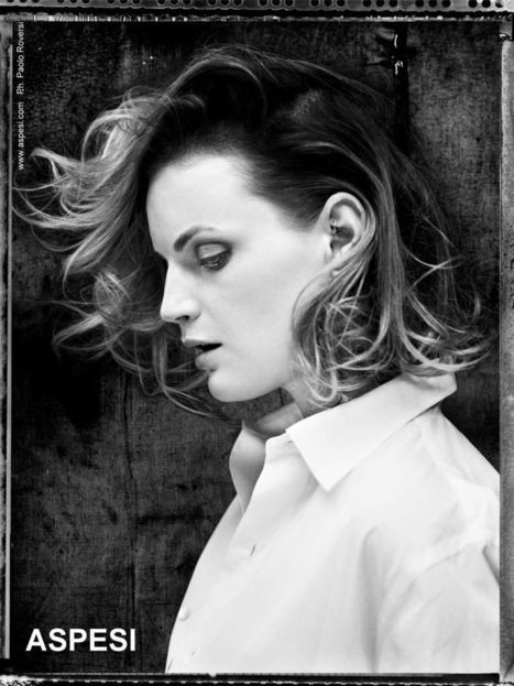 Natalia Vodianova, Guinevere van Seenus, Stella Tennant and Saskia de Brauw Pose for Paolo Roversi in Aspesi Spring 2013 Campaign | TAFT: Trends And Fashion Timeline | Scoop.it