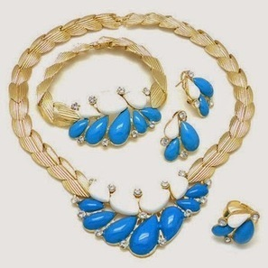 Stylish Party Wear Jewellery Collection For Girls From 2014 | Women Fashion | Women fashion | Scoop.it