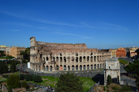 Looking Over Ancient Rome From Palatine Hill | Ancient rome | Scoop.it