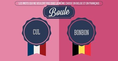 Top 10 des mots qui ne veulent pas dire la même chose en Belgique et en France | POURQUOI PAS... EN FRANÇAIS ? | Scoop.it