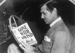 Awesome People Reading: Clark Gable | education & libraries | Scoop.it