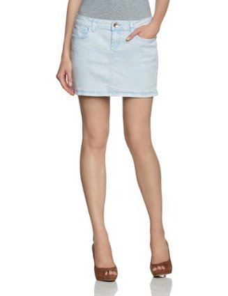 $@$   TOM TAILOR Denim Damen Rock (mini) 55122110071/lightblue denim skirt32cm, Gr. 36 (S), Blau (1000 original) | Günstige Röcke | Scoop.it