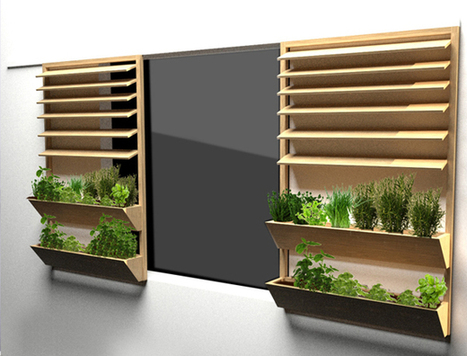 Les potagers urbains grimpent aux facades | IMMOBILIER 2014 | Scoop.it