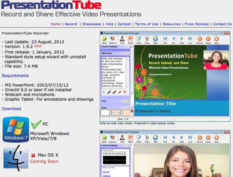 PresentationTube Recorder | Digital Literacy & 21st Century Learners | Scoop.it