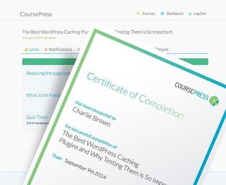 CoursePress – Create and Sell Awesome Courses in WordPress for Free! | Wordpress in Higher Education | Scoop.it