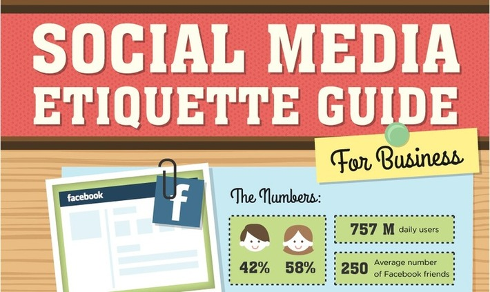 Guest post: The guide to social networking etiquette (infographic) | A Marketing Mix | Scoop.it